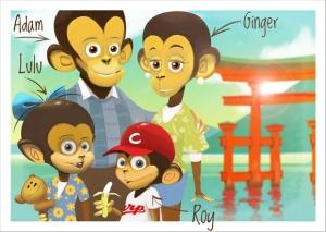 Bilungual Monkeys