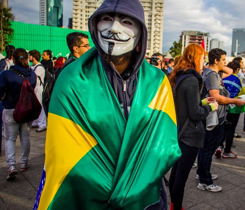 Guy Fawkes is Brazilian