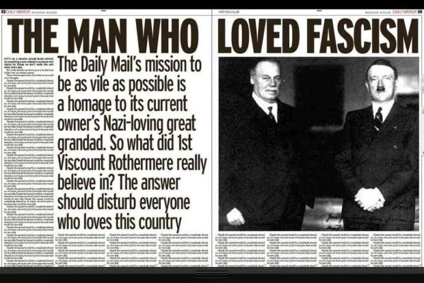 Daily Mirror hates Daily Mail