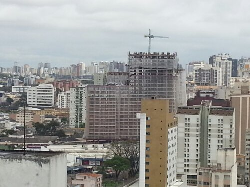 Building Site in Curitiba, Brazil.