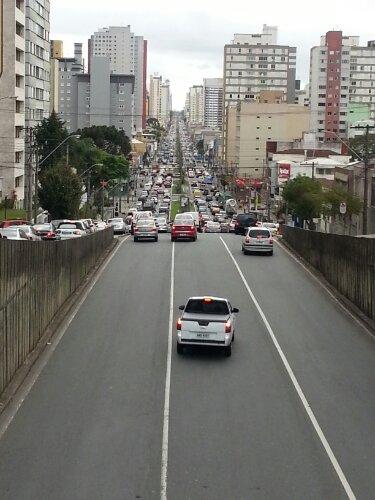 Rua Viscond de Guarapuava, Curitiba