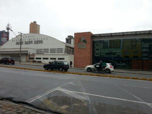 Mercado Municipal, Curitiba, from street level