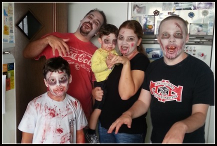 Ready for the Zombie Walk, Curitiba
