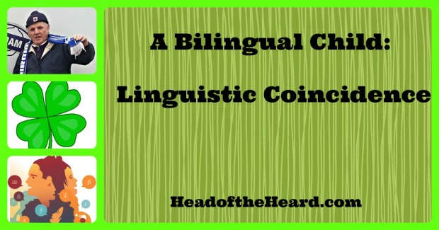 Linguistic Coincidence 3