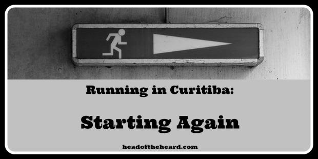 Running injury in Curitiba, Brazil
