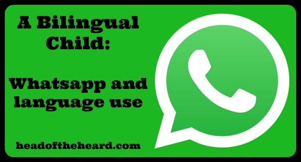 Whatsapp, bilingual, family, language use, motivation, Brazil