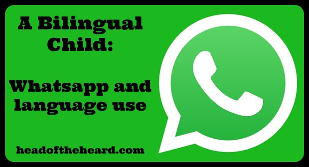 Whatsapp, bilingual, family, language use, motivation, Brazil